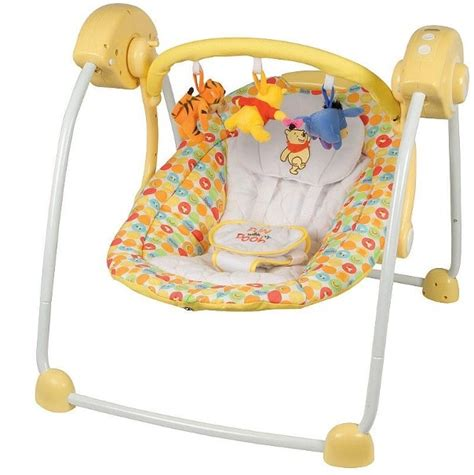 winnie the pooh infant swing tomy winnie the pooh music time swing reviews