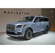 2018 Lincoln Navigator Debuts At 2017 New York Auto Show