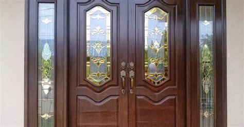 contoh gambar pintu rumah minimalis model minimalist