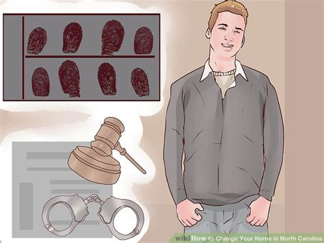 If I Change My Name Will My Criminal Record Follow Me 5 Ways To Change Your Name In Carolina Wikihow