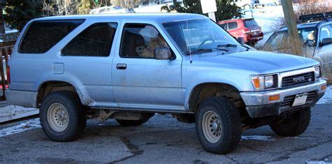91 Toyota 4runner File 1990 91 Toyota 4runner 3 Dr Hf Jpg Wikimedia Commons
