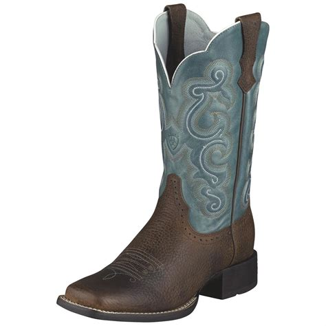 cowboy boots womans s ariat 174 11 quot quickdraw western boots 216123