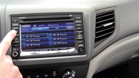 2012 honda civic ex l with navi interior dash and