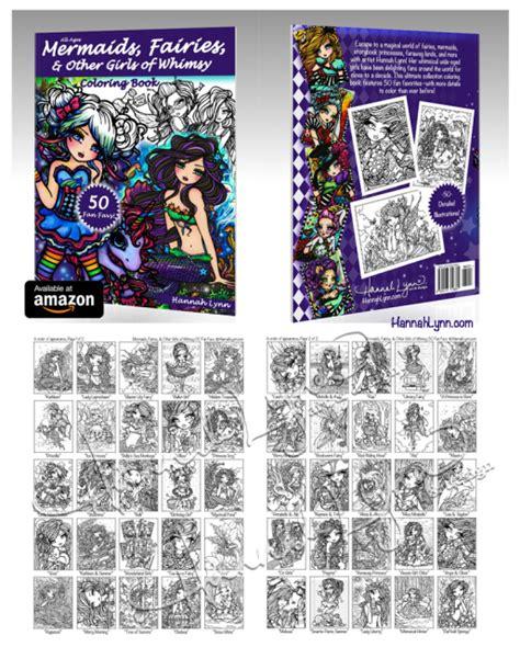 mermaids fairies other girls of whimsy coloring book 50 fan favs libro para leer ahora mermaids fairies other of whimsy coloring book 50 fan favs autographed paperback