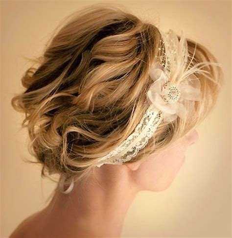 hair band hairstyle wedding hair bands