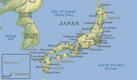 Jepitan Korea south korea japan map