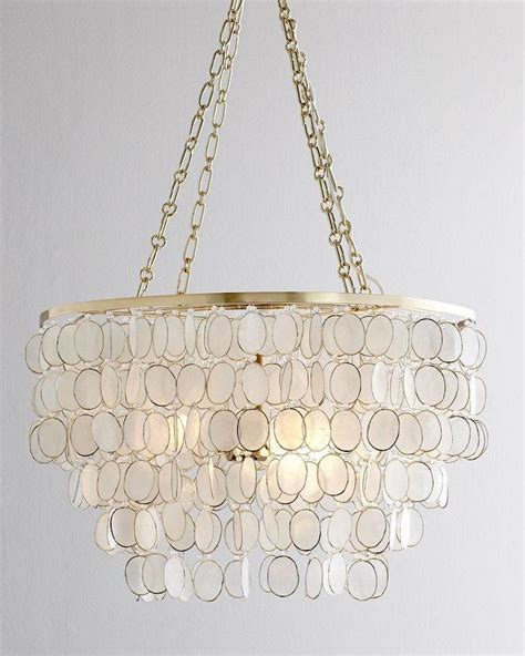 Horchow Chandeliers Aurora Capiz Shell Chandelier I Horchow
