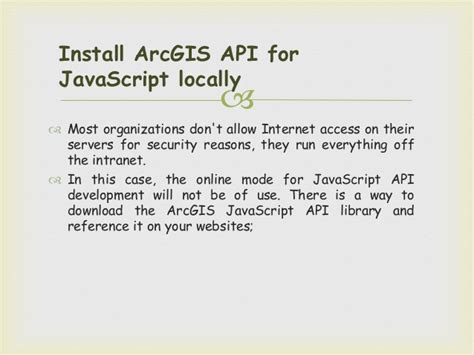 tutorial arcgis javascript arcgis api for javascript tutorial
