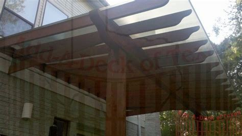 Roof Patio Polygal Translucent Roof Cover Add A Deck Of Texas