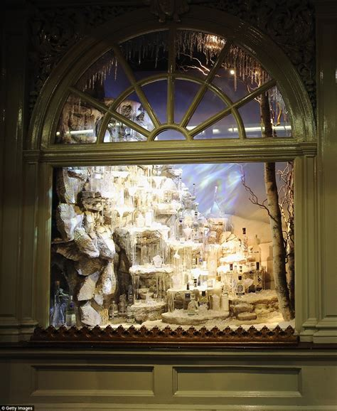 christmas window stores s department stores compete for the capital s best window display daily mail