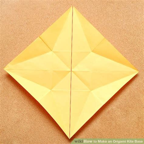 Origami Kite Base - how to make an origami kite base 5 steps with pictures