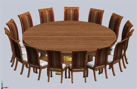 oversized  foot  dining table