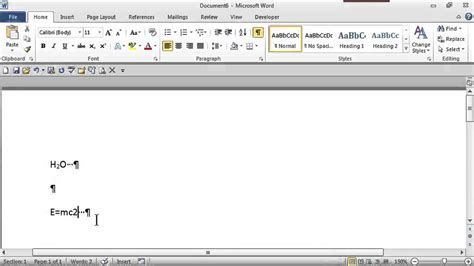 How To Put A Little Number Next To A Word Ms Word Skills | how to put a little number next to a word ms word skills