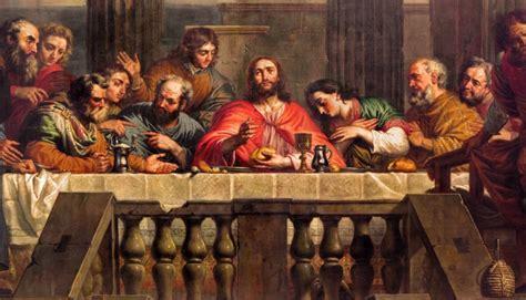 la ultima cena de jesus y sus discipulos jueves santo la 250 ltima cena de jes 250 s con sus disc 237 pulos