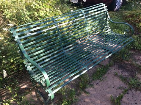 antique park benches for sale iron park bench for sale classifieds