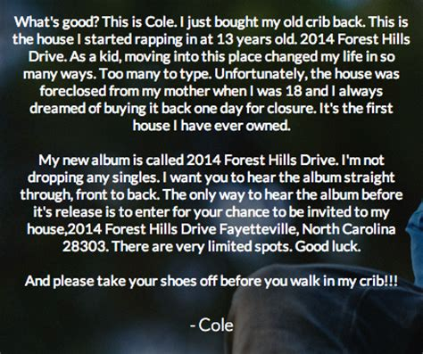 j cole house missinfo tv 187 j cole invites fans to his house to hear his new album