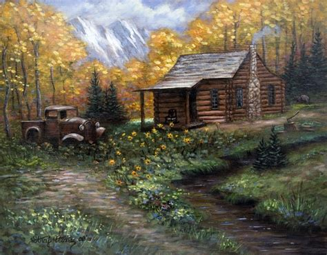 log cabin homes designs endearing lighting painting with log cabin autumn trees mountain painting 11 x 14