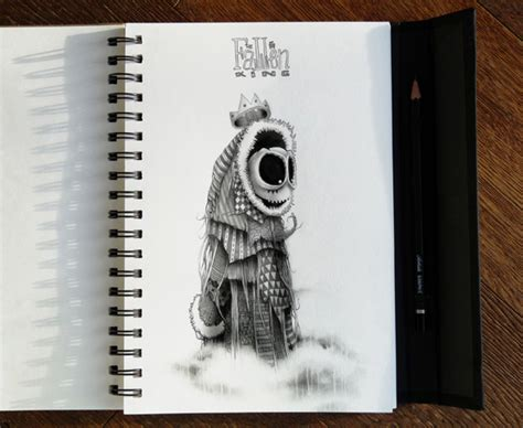 astelvio awesome sketchbook drawings  illustrations