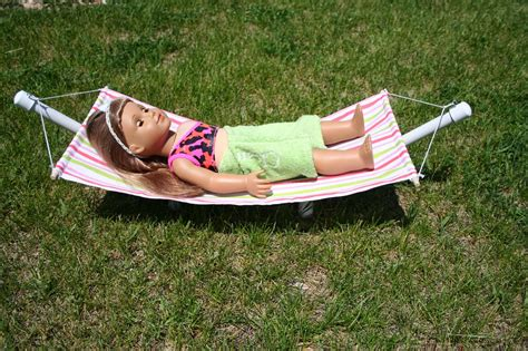 How To Make American Doll Stuff Out Of Paper - arts and crafts for your american doll hammock for