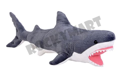 shark plush shark great white plush stuffed animal aquatic sea creature 16 quot rm2104 ebay