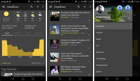 theme google today google news weather gets dark theme search and pretty