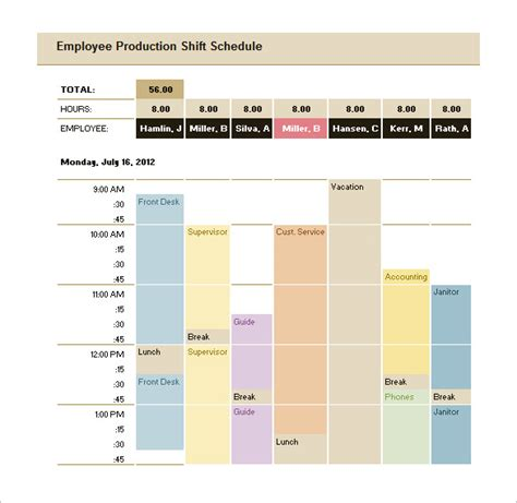 29 Production Scheduling Templates Pdf Doc Excel Free Premium Templates Production Schedule Template Excel