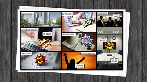 Comic Book Prezi Template Prezibase Comic Book Template Powerpoint