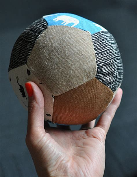 pattern for fabric ball boys gifts to sew