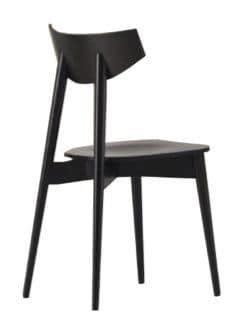 schwarzer stuhl baby au 223 en stuhl mit armlehnen aus kunststoff idfdesign