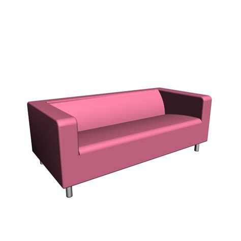 loveseat ottoman klippan loveseat gran 229 n pink design and decorate your
