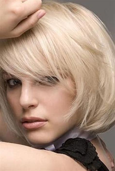 bob haircut with style layered bob hairstyles with side bangs fashion trends