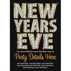 sparkling personalised new years celebration invites buzz invites