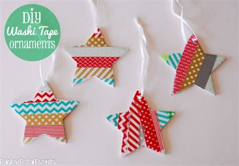 washi paper ornament washi ornaments