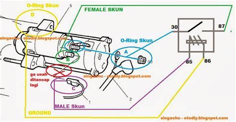 Switch Starter Xenia Membuat Relay Dinamo Starter Timor S515 Sohc Karburator