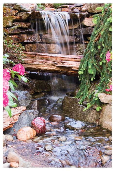 waterfall kits for backyard sierra 1 ws waterfall stream kit