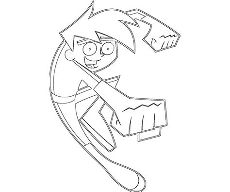 Free Printable Danny Phantom Coloring Pages For Kids Danny Phantom Coloring Pages
