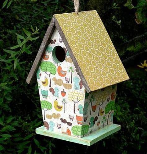Decoupage House - 9 best images about bird house decor on plaid