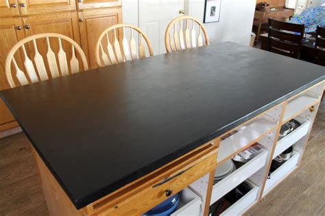Paint Kitchen Cabinets With Chalk Paint Diy Faux Soapstone Countertop Chris Loves Julia