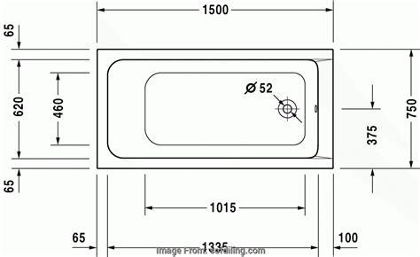vasca da bagno misure standard misure vasca da bagno