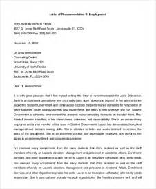 Reference Letter From Previous Employer Pdf Employer Recommendation Letter Sle Work Reference