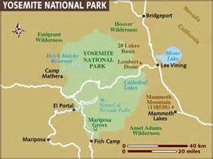 gensther map of yosemite