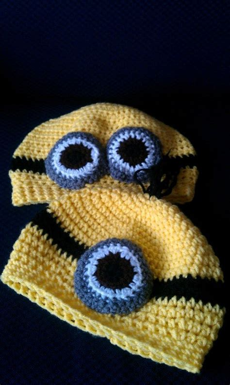 minion crochet bobs and the minions on pinterest the minion hats free pattern crochet hats pinterest