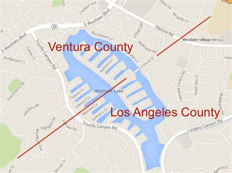 Ventura County Property Records Los Angeles Ventura County Line Map Indiana Map