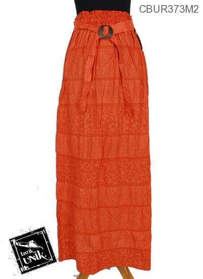 Rok Batik Klok Panjang Kembang rok panjang motif boto kembang rok murah batikunik