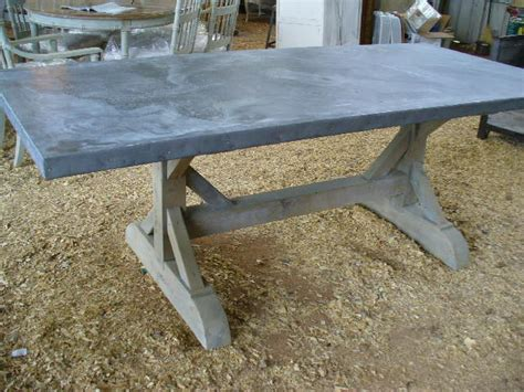 belgian zinc top table davelennard