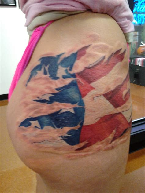 small american flag tattoos justin outlaw certified artist
