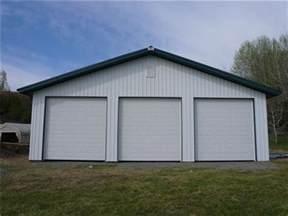 Prefab Garages With Living Quarters large 3 car garage wide 3 car steel garage buildings