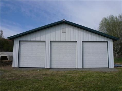 How Wide Is A 3 Car Garage by Large 3 Car Garage Wide 3 Car Steel Garage Buildings
