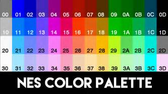 nes color palette how to hack nes editing colors