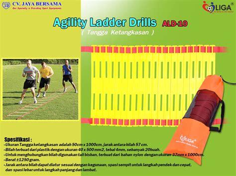 Alat Latihan Agility Ladder Speed Ladder Versi Ii agility ladder drills ald 10 cv jaya bersama